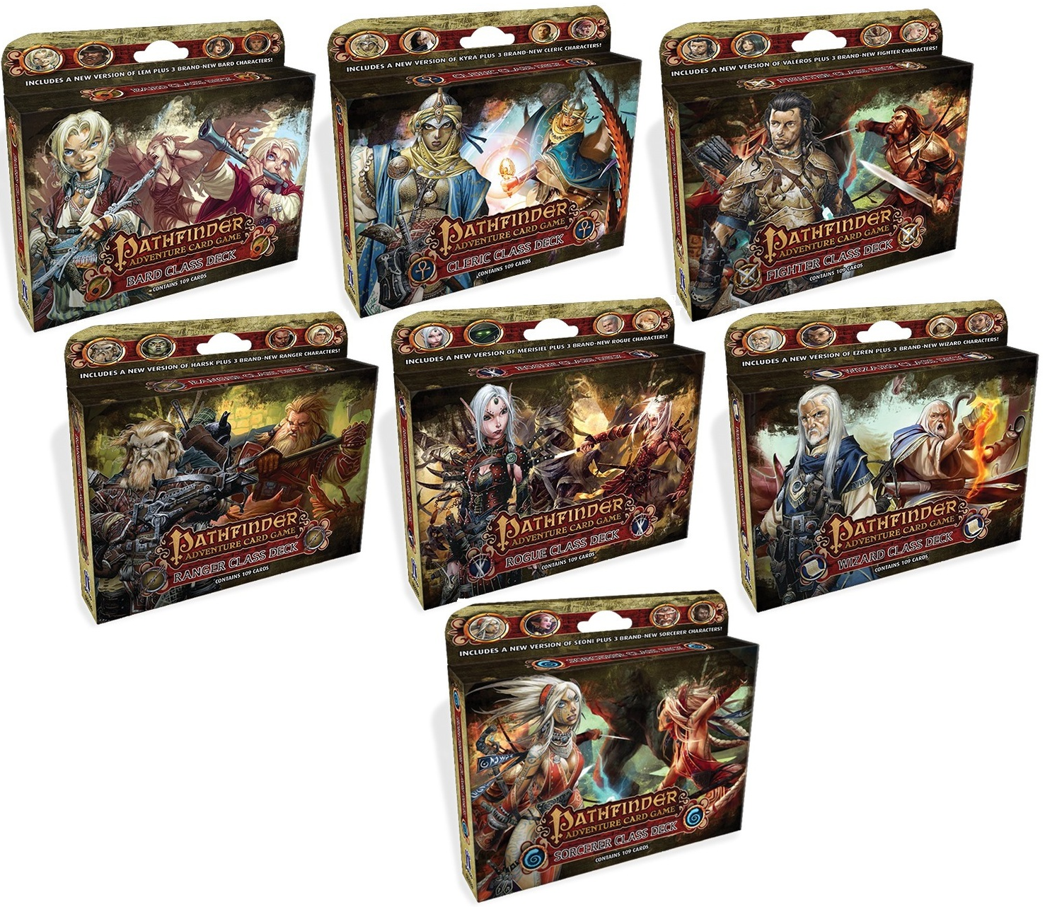 The Pathfinder Adventure Card Game: Class Decks Review ...