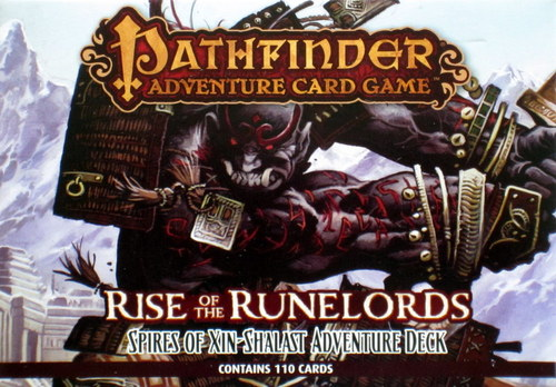 The Pathfinder Adventure Card Game: Rise of the Runelords – Spires