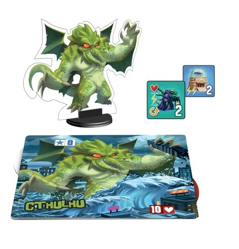 King Of Tokyo Cthulhu Monster Pack Expansion Review